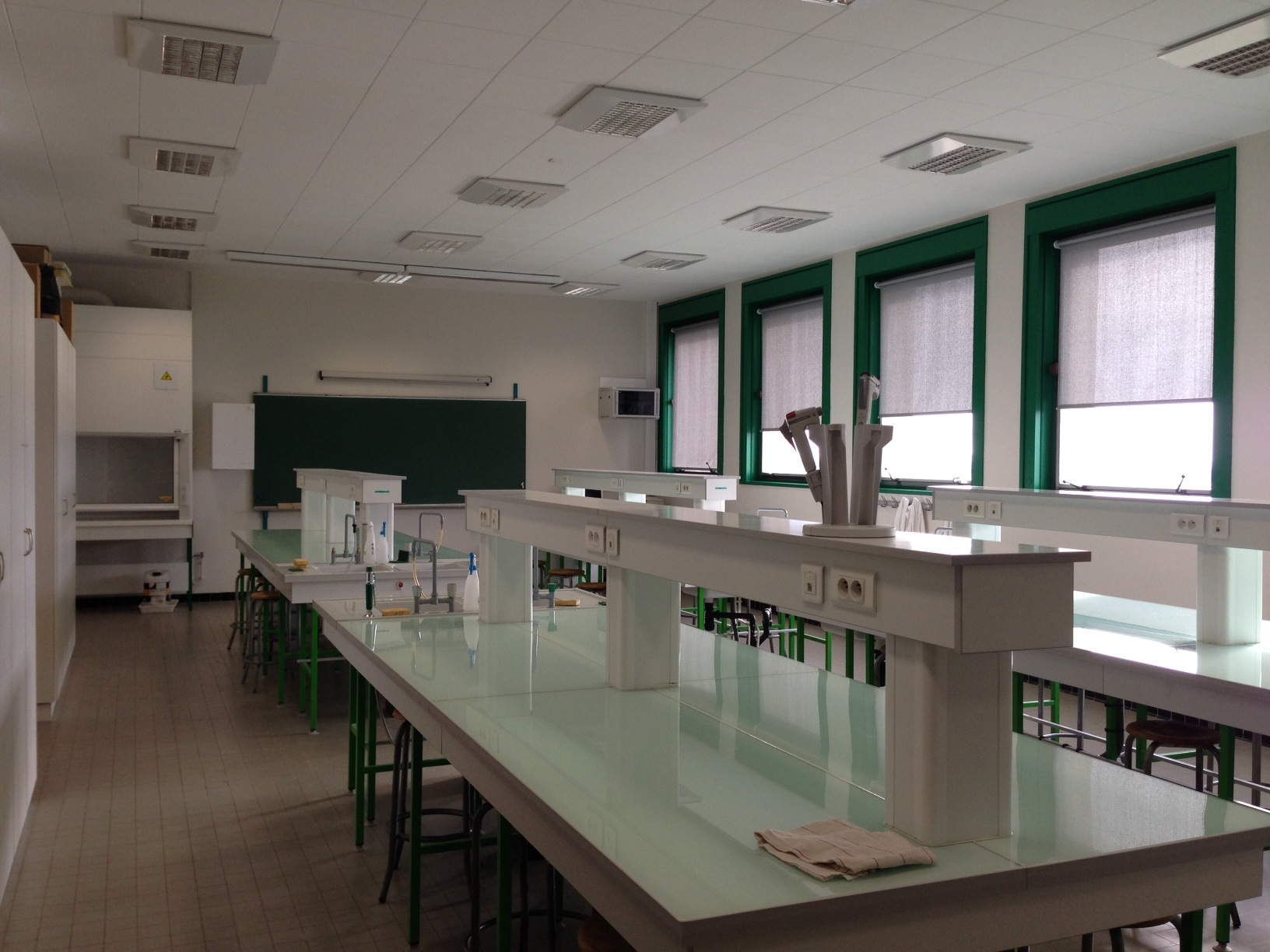 salle physico-chimie